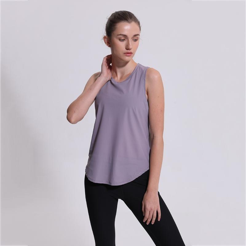 TaoBo Sport Yoga Top Femme Fitness Crop Top Gym T-shirts d'entraînement Gilet sans manches en cours Survêtements pour les femmes