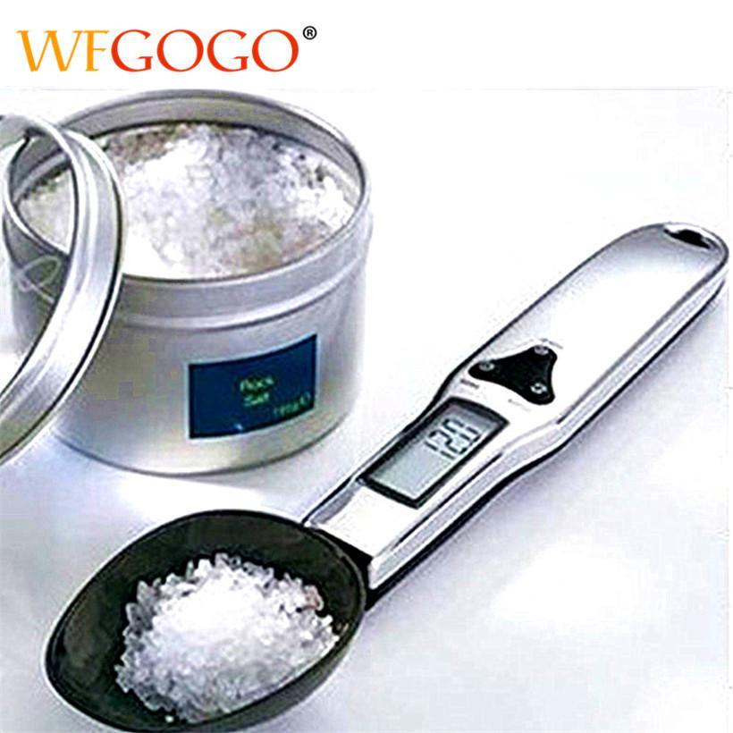 300g / 0.1g LCD portátil balanza de cocina digital cuchara dosificadora electrónica Gram cuchara Peso Volum Escala del alimento nuevo de alta calidad