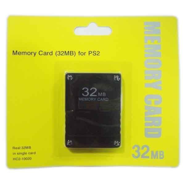 مع صندوق البيع بالتجزئة 8M / 16M / 32M / 64M / 128M بطاقة لPS2 للبلاي ستيشن 2 للPS بطاقة الذاكرة 2 بلاي ستيشن
