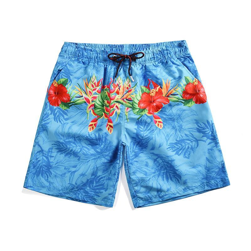 High Quality Summer Hot Boxers Men's Swim Trunks Quick Dry Beach Shorts Pants With Pockets Bathing Shorts Surf