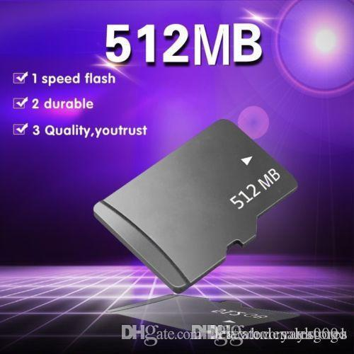 UK Wholesale New 512MB micro tf flash memory card 512MB class 10 + TF for mobile FOR pc E267