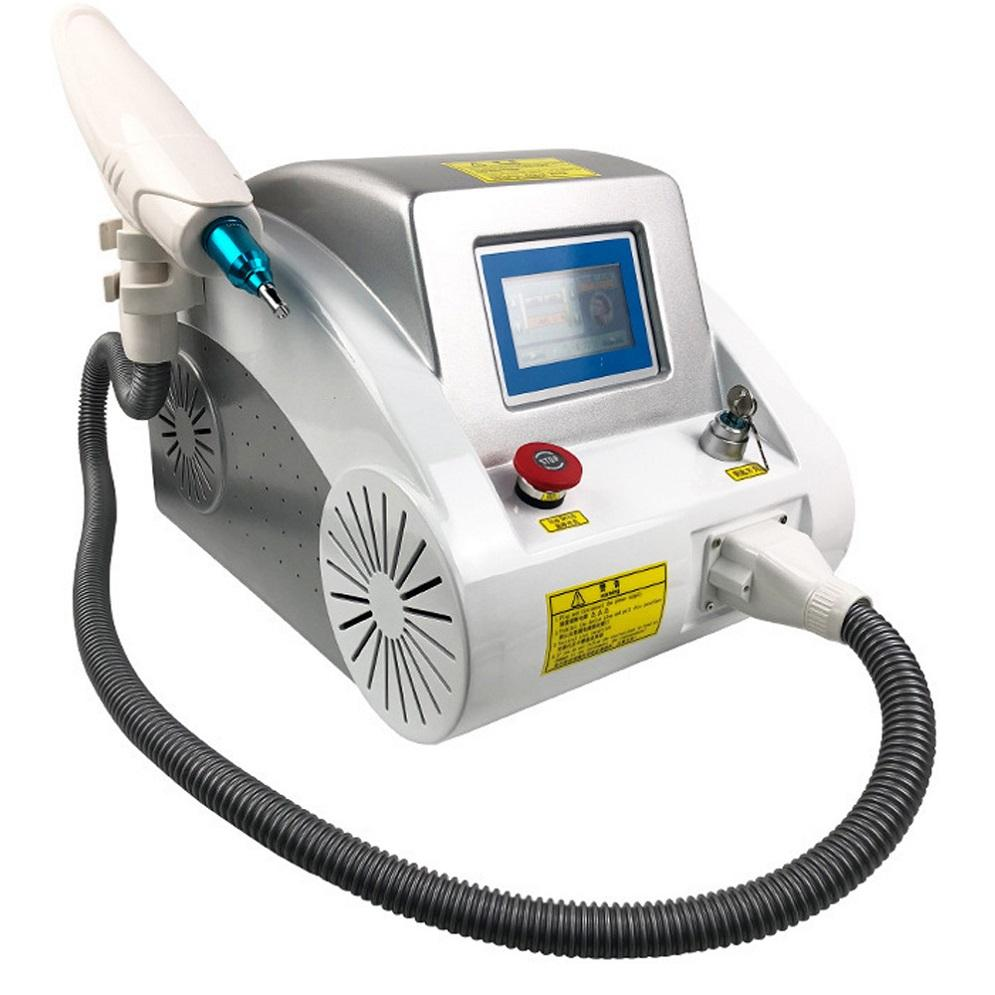 2020 HOT vendita Q Switched ND YAG laser / 532 1064 1320 nm di rimozione del tatuaggio del laser Yag macchina Prezzo / carbonio Laser Peel macchina