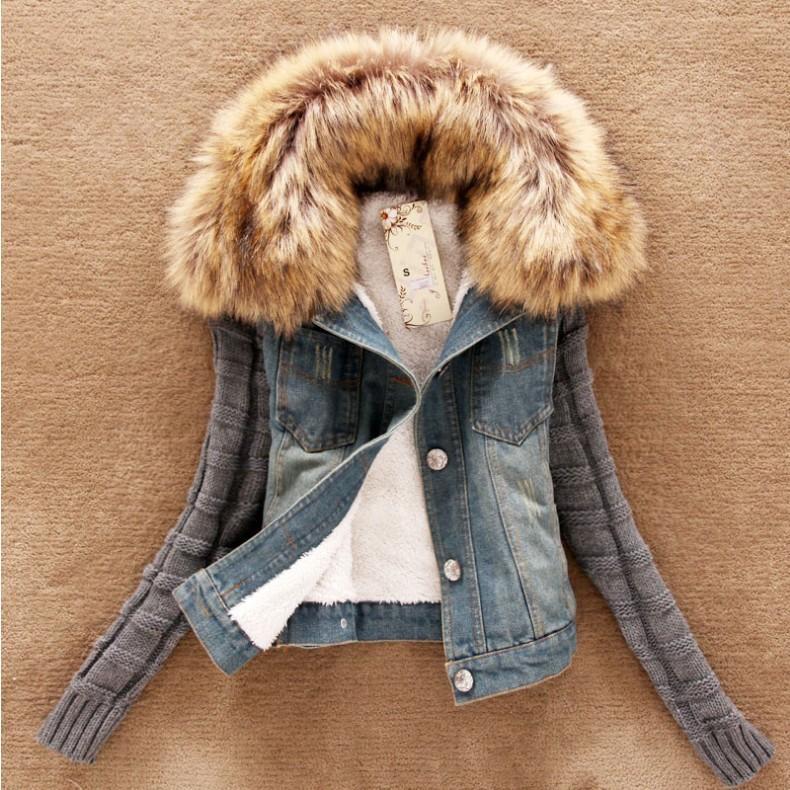 Denim Mujer chaquetas azules capa de la chaqueta