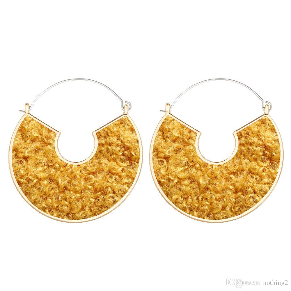 Women Earring Cotton Charm Alloy Dangle Earring For Women Party Birthday New Year Christmas Gift