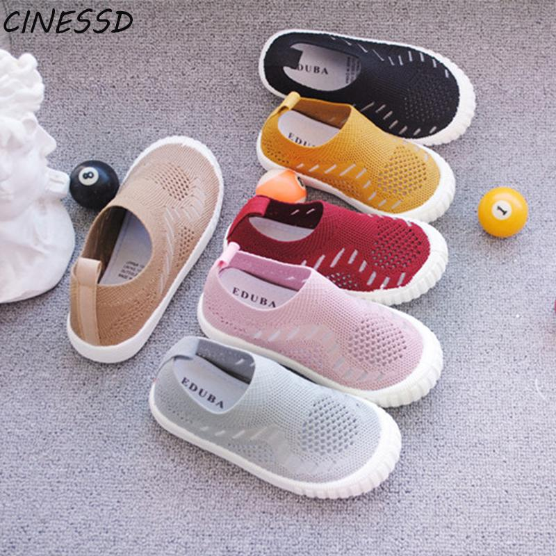 2020 New Children Shoes Boys Sneakers Girls Sport Shoes Child Casual Breathable Kids Running Sandalias Baby Boy Girl 23-32