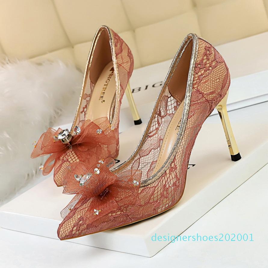 talons chaud vendre- chaussures de mariage Zapatos fiesta mujer elegante Escarpins femmes sexy talons paillettes talons hauts de chaussures de soirée d1