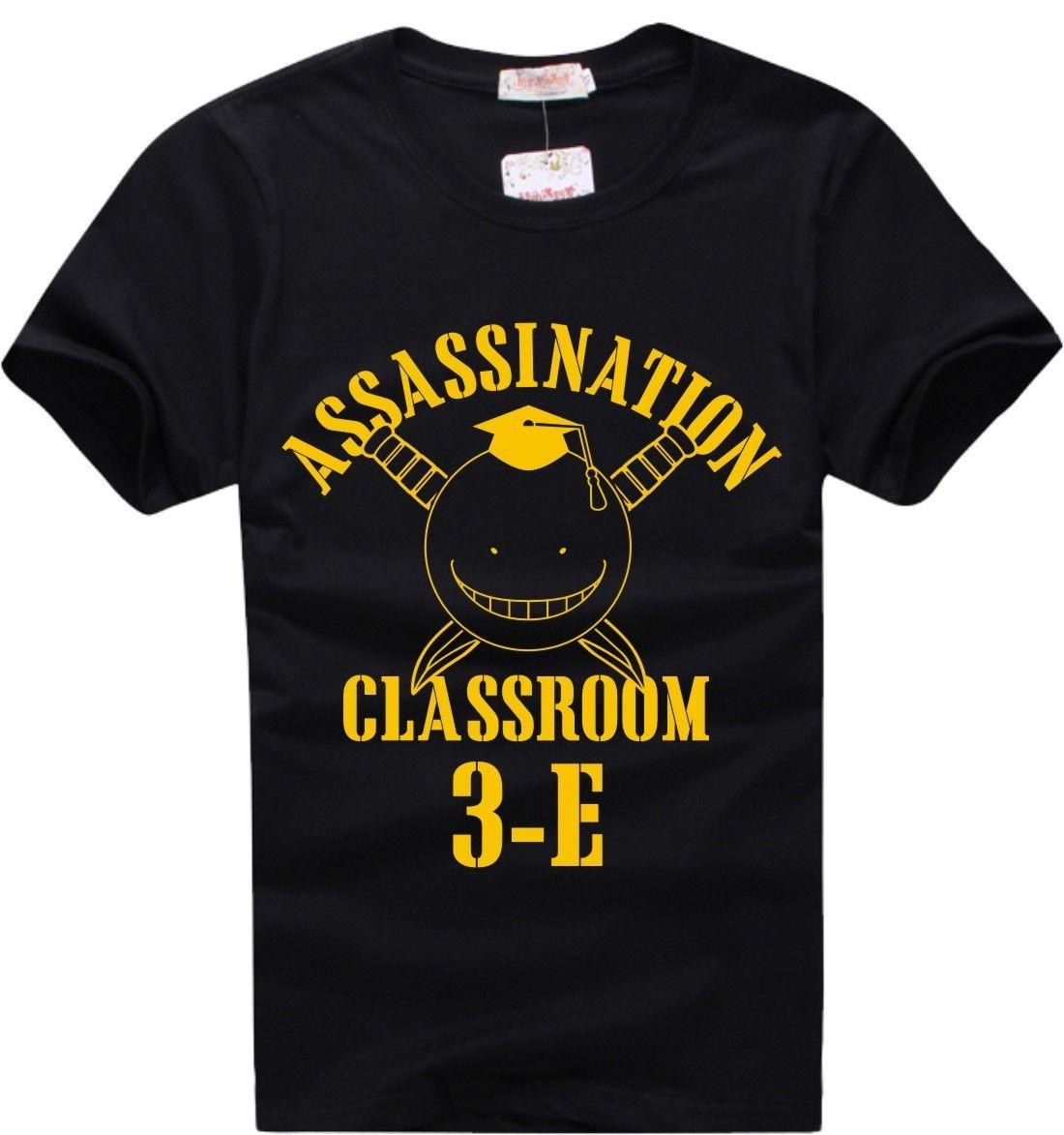 Assassination Classroom Korosensei T-Shirt Animation Comic Cartoon t shirt men Unisex New Fashion tshirt free shipping funny