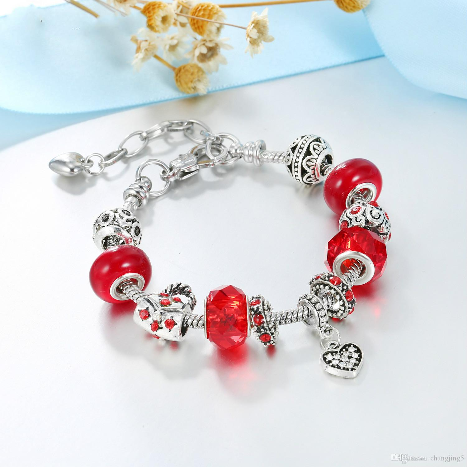 1079 925 Sterling Silver Beads for European Charm Bracelets et Colliers