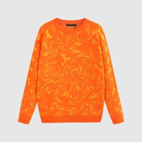 Männer Luxus Pullover Designer-Muster Pullover Aktive Hiphop Signer Street Marke Kanye West Kleidung mit Tag Asiatische Größe 2 Farben Hot
