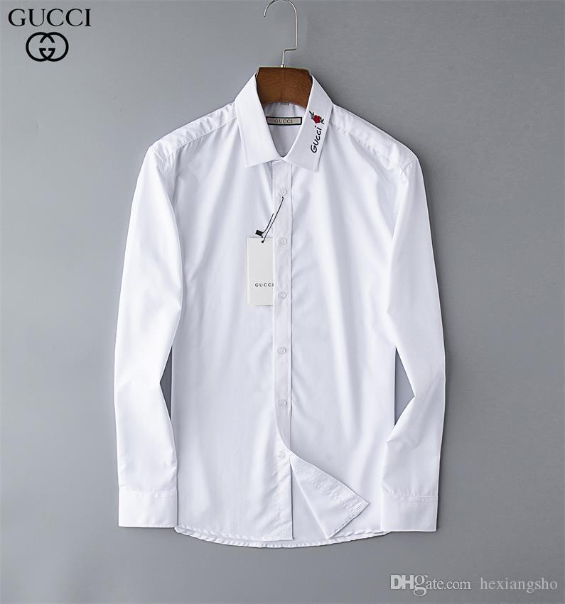 Chemise Casual pour hommes de la marque pour hommes à manches longues à rayures slim fit camisa masculina t-shirts hommes sociaux nouveau mode homme chemise à carreaux 09