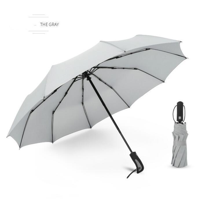 guarda-sóis totalmente automáticos 10 de fratura dobrar guarda-vento e chuva chuvas negócios chuva dupla finalidade totalmente automáticas DHL grátis