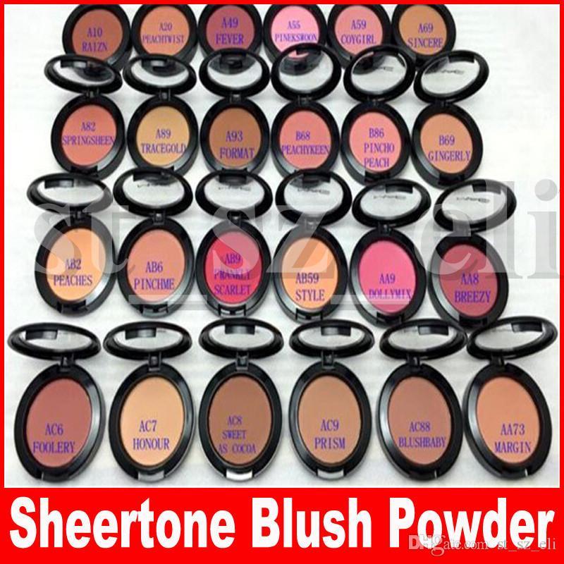 Face Blushes Cosmetics Make Up Powder Shimmer Blush 24 Color SHEERTONE BLUSH MARGIN PINCHME PINEKSWOON 6g