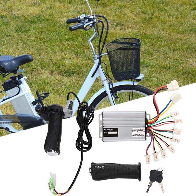 Vélo électrique Kit moteur 48V 1000W Contrôleur de moteur brossé Vitesse avec verrouillage d'accélérateur Twist Grip Display Power E-Bike Ele