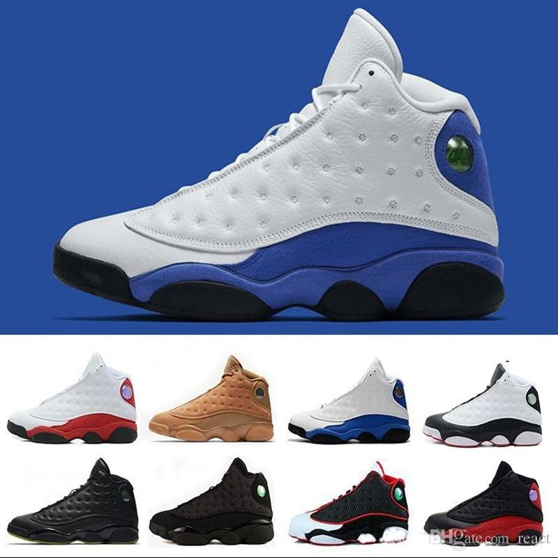 2021 13 13s Męskie Buty do koszykówki 11 GS Hyper 11s Royal Blue Bordeaux Flinty Chicago Hodowla Pszenica Olive Ivory Black Cat Men Sports 5.5-13