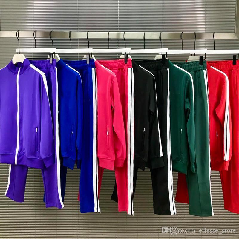2021 Yeni Mens Bayan Eşofman Tişörtü Erkekler Erkekler Track Ter Suit Coats Adam Tasarımcılar Ceketler Hoodies Pantolon Tişörtü Spor 21ss