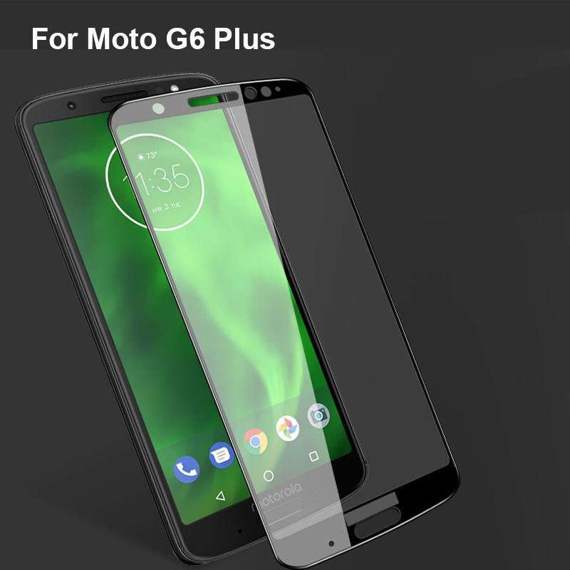 2PCS Ultra-Thin protetor de tela de alta qualidade vidro moderado para o Moto G6 Além disso g6 + G6plus tela de vidro temperado de proteção