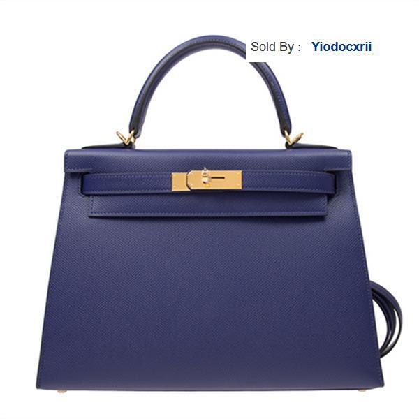 yiodocxrii LTXT Handbag Kelly28m3 Epsom Gold Buckle Handbag Totes Handbags Shoulder Bags Backpacks Wallets Purse