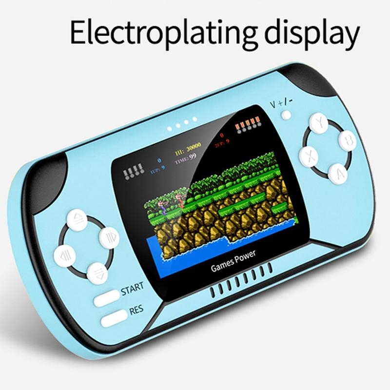 RS11 8 Bit Charging Handheld Game Console Large Capacity Nostalgic Handheld Built in 300 Classic Games