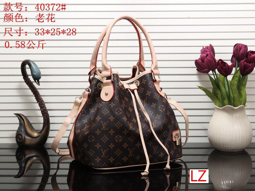LZ 540372 # O melhor preço Alta qualidade mulheres únicas senhoras bolsa bolsa de ombro mochila bolsa carteira
