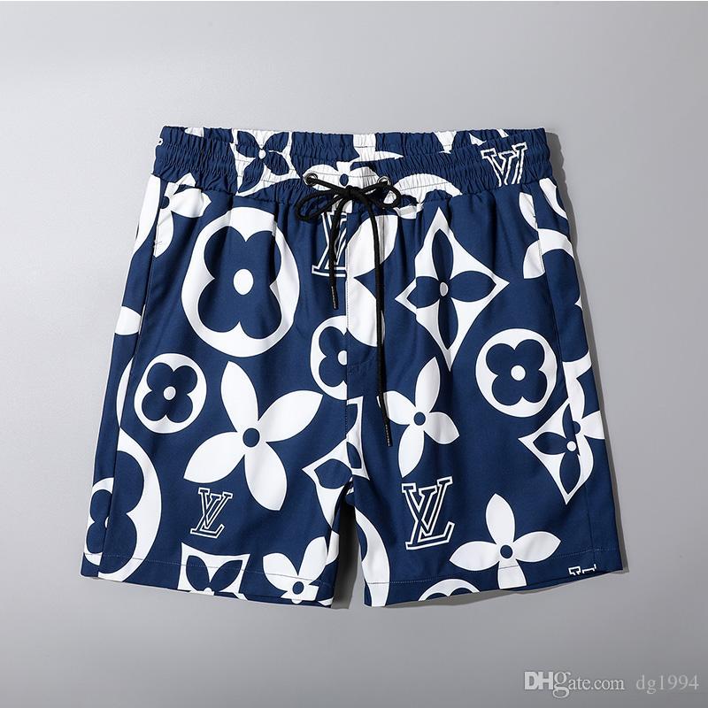 Calças NOVO Summer Fashion Shorts New Designer Board curto de secagem rápida Swimwear Impressão Board Praia Men Mens Swim Shorts M-3XL