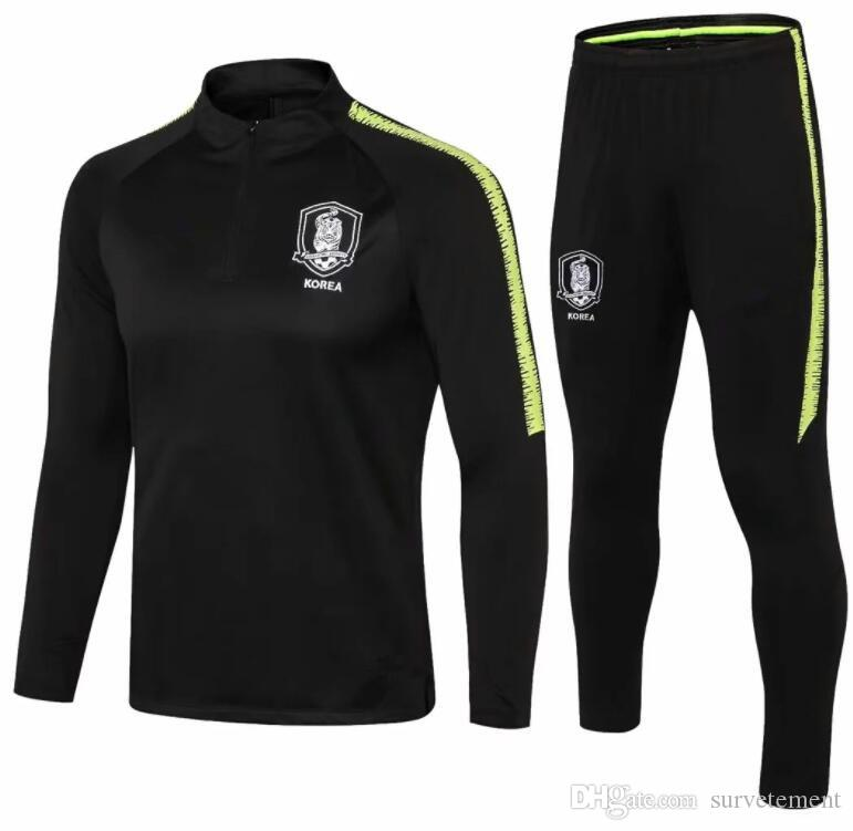 top Corea 2019 2020 training suit soccer tracksuit Survêtement de football training suit jogging chandal futbol