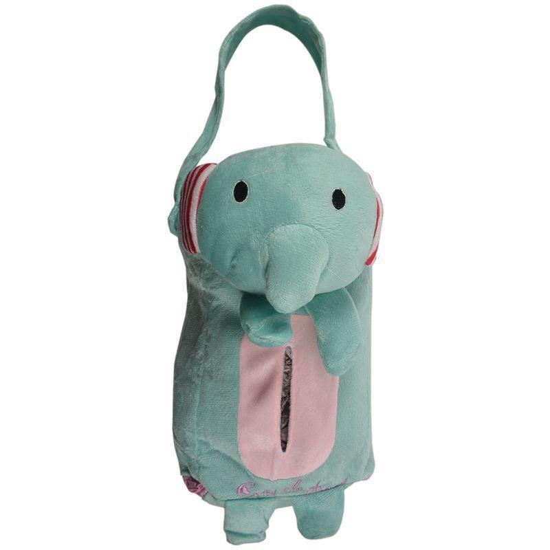 Hot Sale Car seat back hanging paper towel box tissue box Elephant