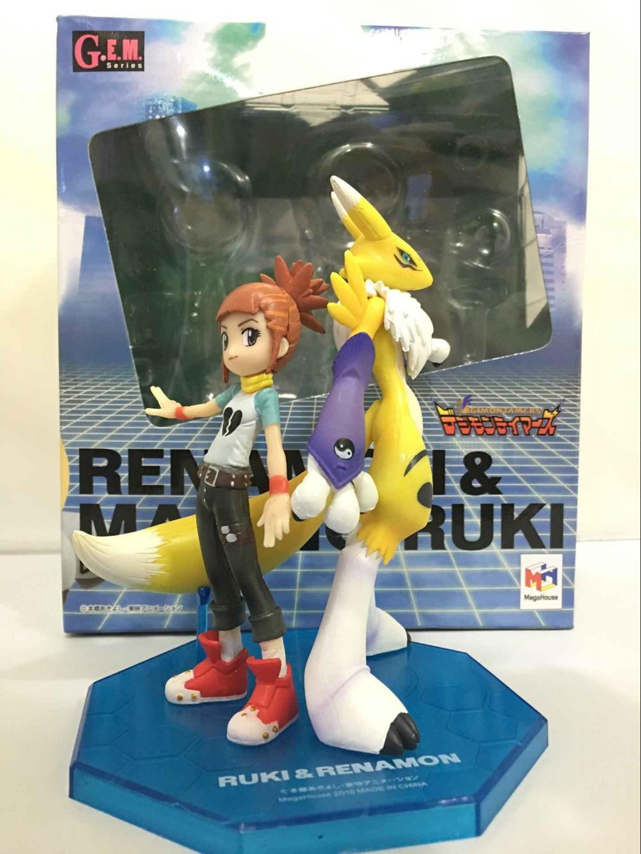 NEUE heiße 15 cm digitale Monster Makino Ruki Digimon Königin Renamon Action Figure Spielzeug Puppensammlung