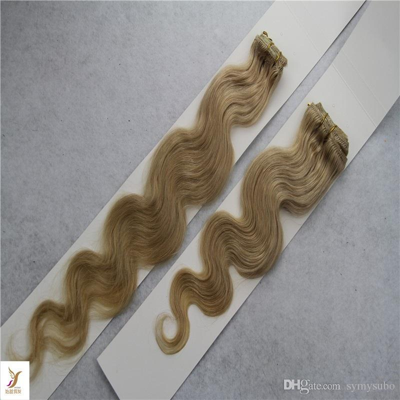 #27 Strawberry Blonde Color Malaysian Virgin Hair Weaving 10-30 Inchs Body Wave Extensions 1 Piece Human Hair Weave Bundles