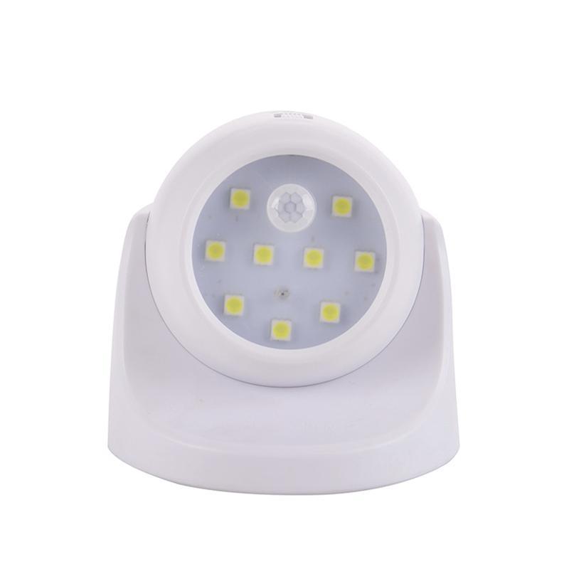 360 Degrees Rotatable LED Night Light Motion Sensor Night Wireless Emergency Human Body motion sense Sensing light
