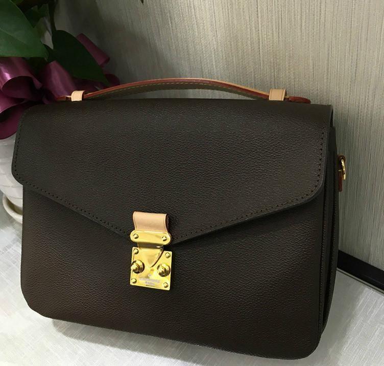 Original de alta qualidade designer bolsas de luxo bolsas Métis Messenger Bag Mulheres Tote Marca Crossbody Bag Sacos de Ombro de Couro Genuíno