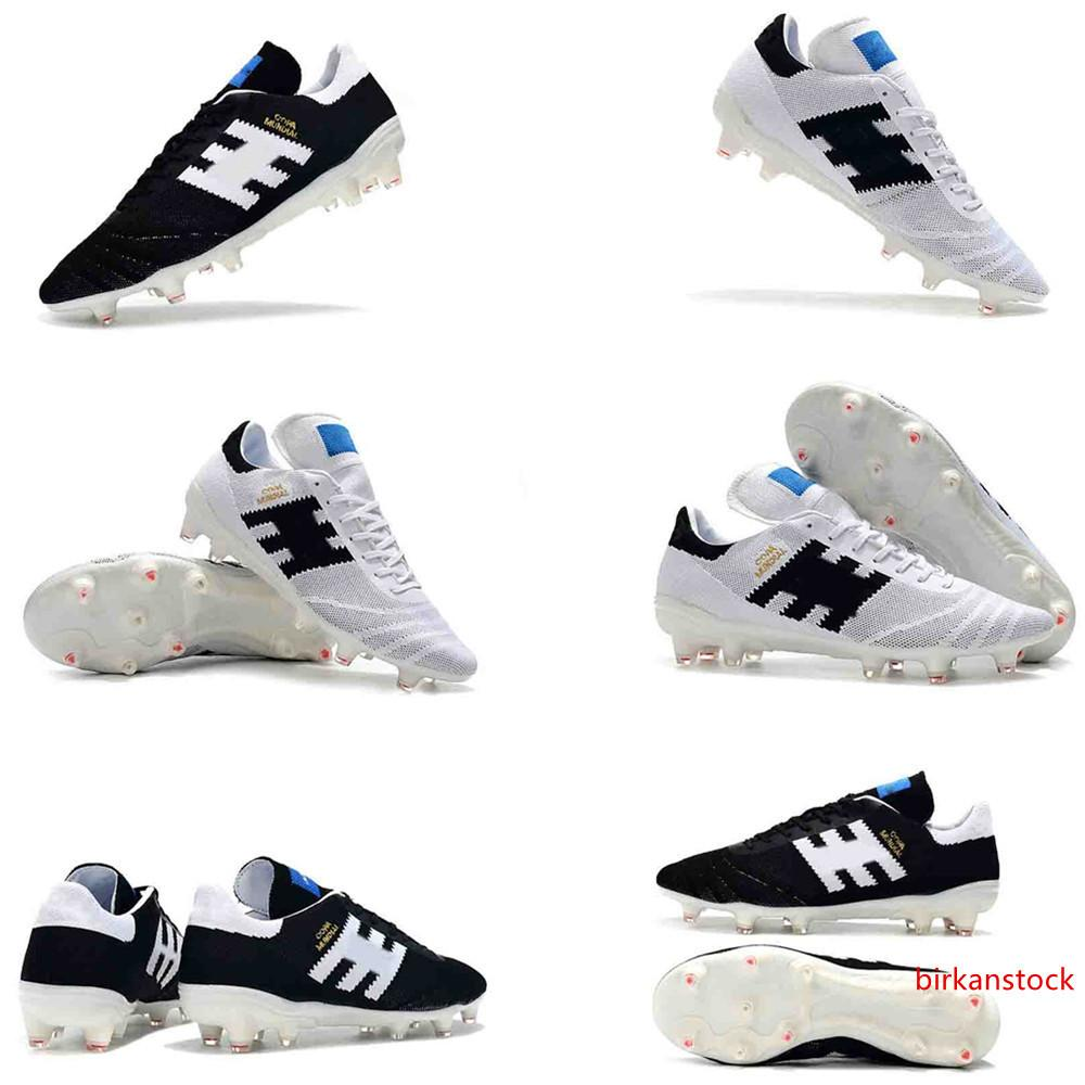 2019 new arrival mens soccer cleats Copa 70Y FG soccer shoes 70 Year limited-edition football boots leather Tacos de futbol original
