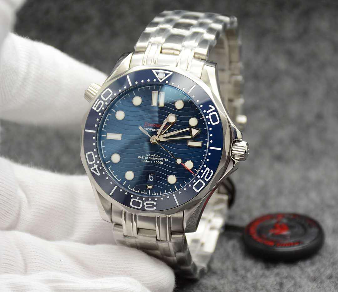 남성 시계 남성용 전문 바다 다이버 시계 자동 운동 오션 다이버 42mm 세라믹 베젤 마스터 디자이너 시계