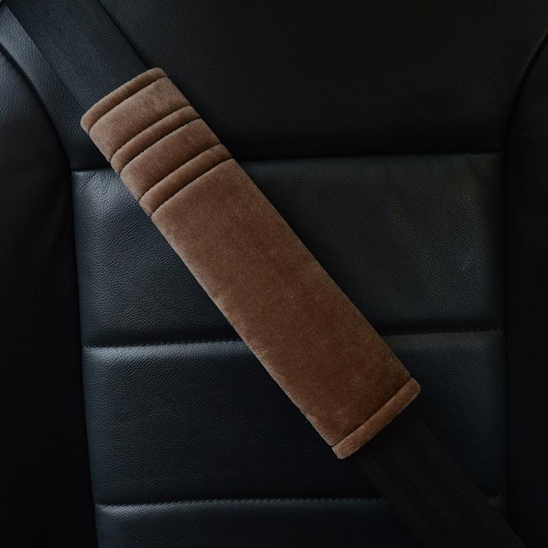 2pcs Soft Anti-износа ремня автокресла крышки ремня подушки колодки, чтобы ослабить давление плеча от автомобиля стайлинга