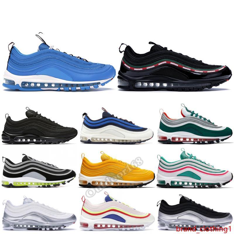 OG deporte de los hombres de los zapatos corrientes de South Beach pana blanca UNDFTD Negro Azul Overbranding héroe diseñador de las mujeres zapatillas de deporte Tamaño 36-45