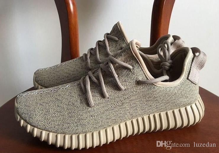 2019 nueva venta zapatos de Kanye West Boos V1 Oxford Tan Moonrock pirata Negro Tórtola Low zapatos para correr 1s zapatos deportivos luzedan