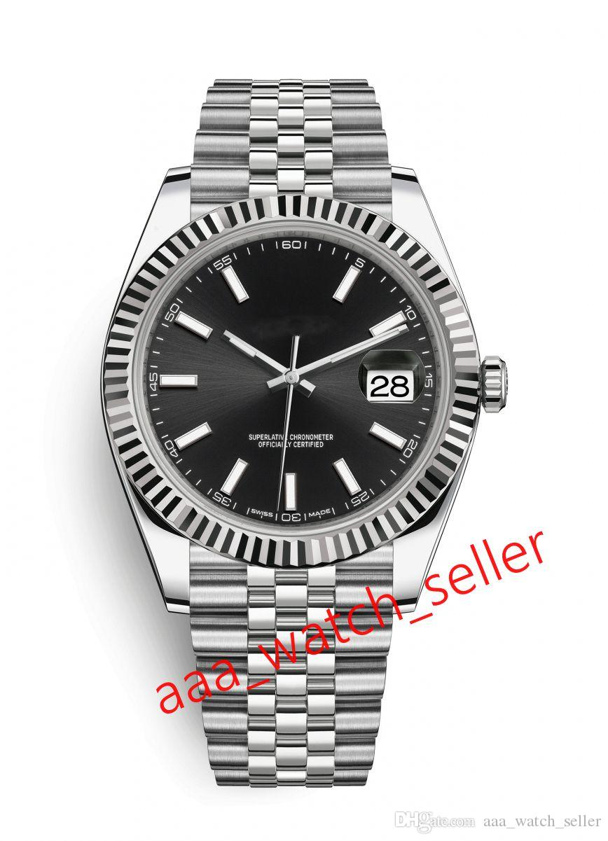 9 стилей Новый мастер Мужские модные часы DateJust 126334 Футровальная рамка SS316L Механическое автоматическое перемещение Jubilee Bracte Mens наручные часы