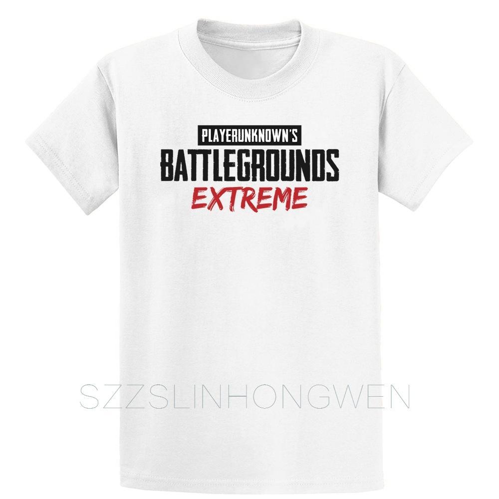 Schlachtfelder Extreme-T-Shirt Familie Cotton Sommer lose Gebäude Printed Euro-Größe S-5xl Familie Hemd