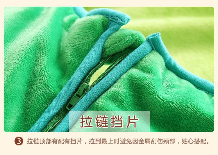 Saco Inverno Carton bebé da rã que prende o saco de Verão Stroller Quente Dormir Sack respirável Algodão SleepSack recém-nascido saco de dormir