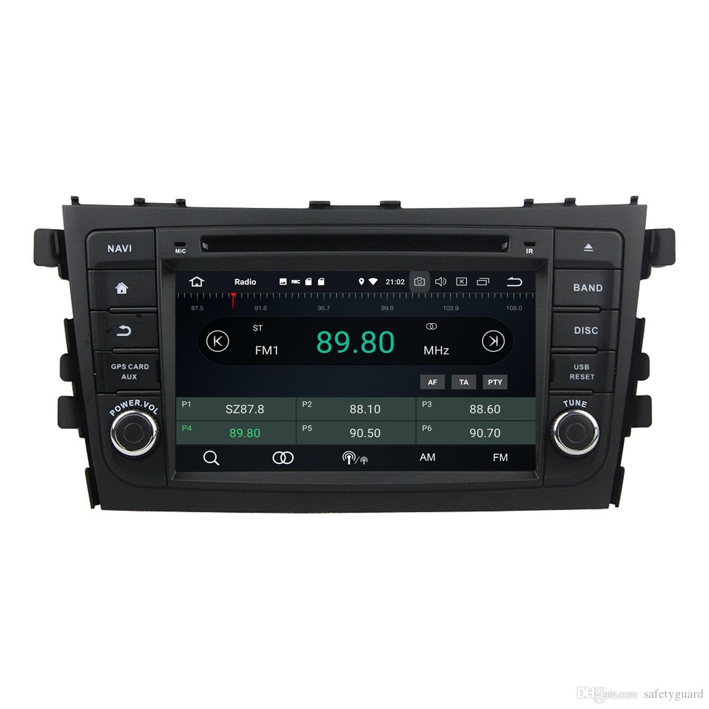 "4GB RAM 64GB ROM Octa Core 2 din 7"" Android 8.0 Car DVD Player for Suzuki Alto Celerio Cultus 2015 2016 RDS Radio GPS WIFI Bluetooth TV USB"