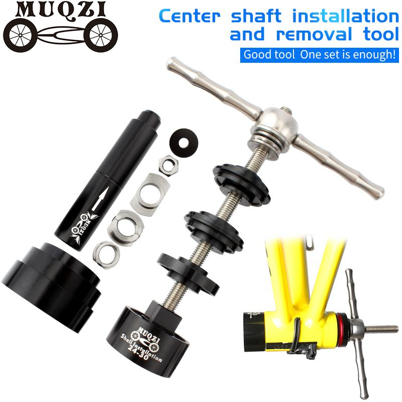 Bicycle Disassembly Removal Tool Shaft Threaded Press-In for BB30 BB86 BB92