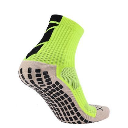 formazione popolare antiscivolo telo di fondo degli uomini dei calzini di calcio resistente gomma antiscivolo addensato deodorante traspirante calzini yakuda forma fisica