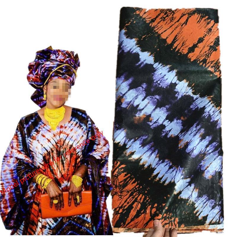 Afrika Popüler Bazin Riche Brocade dantel Afrika Parti Konfeksiyon Kumaş New'in 5yards brokar kumaş afrikalı bazin 30