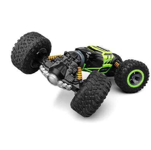 2 4ghz Rc Car Monster Truck 1 16 Bigfoot Double Sided Driving Remote Control Deformation Vehicles Rc Vehicle Top Level Toys Fast Remote Control Cars For Adults Cars With Remote Control From Toyguiyang 44 78