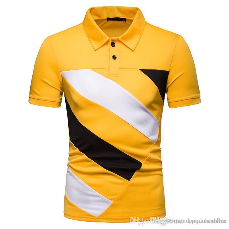 Il nuovo modo camicia POLOT Mens plaid Designer Camicie maniche corte Mens Dress Camicie Casual Uomo Abbigliamento