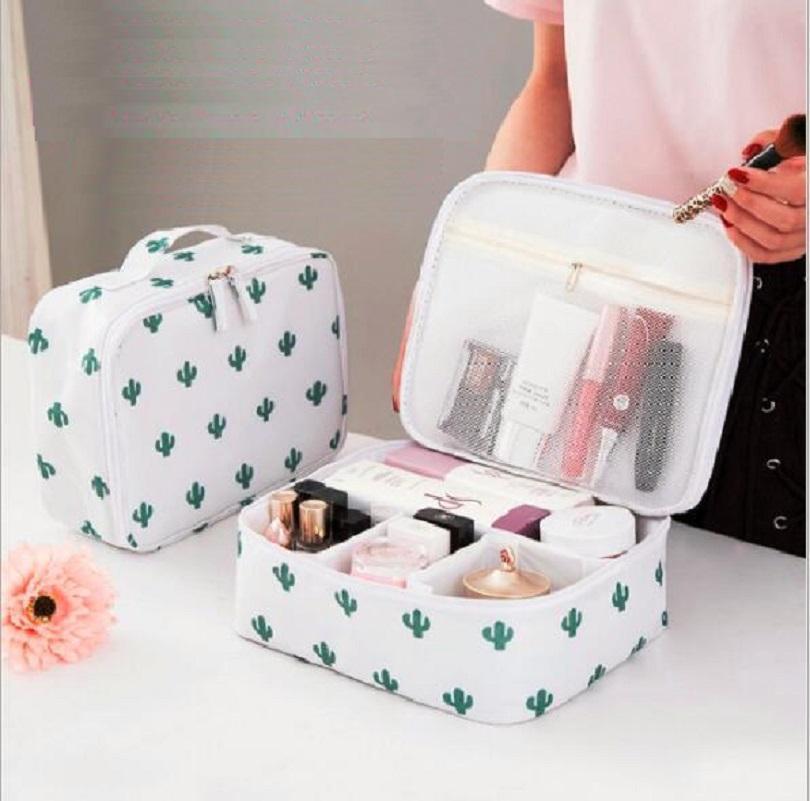 Bayanlar Erkekler Kadınlar Makyaj Makyaj Organizatör Çanta Kozmetik Çantası Tuvalet Taşınabilir Açık Seyahat Setleri İş Depolama çantası