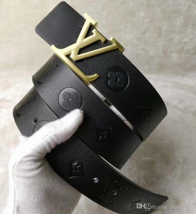 lujo caliente cinturones cinturones negro del diseñador para los hombres de abeja patrón de la correa moda para hombre cinturón de cuero cinturones de castidad masculina del envío libre al por mayor