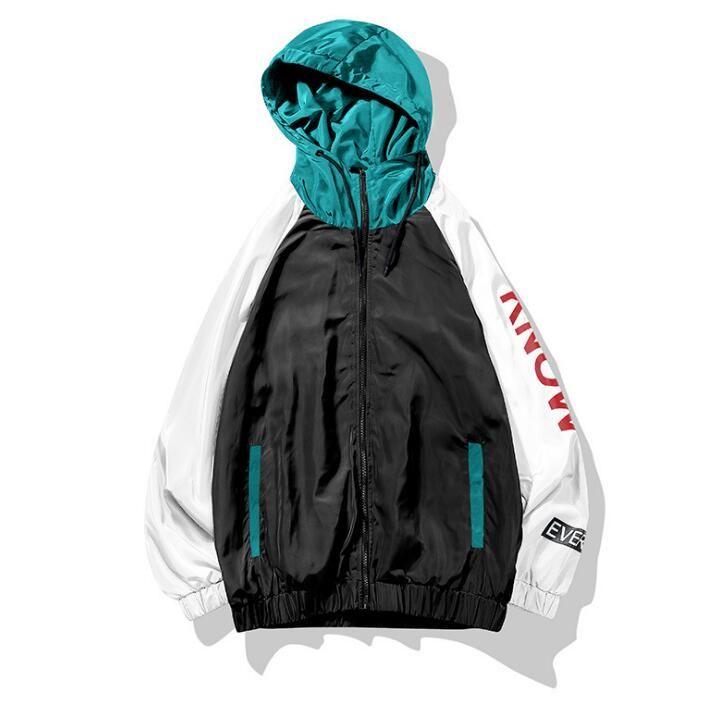 Yeni moda trendi ceket erkek gençlik rahat ceket erkek gelgit