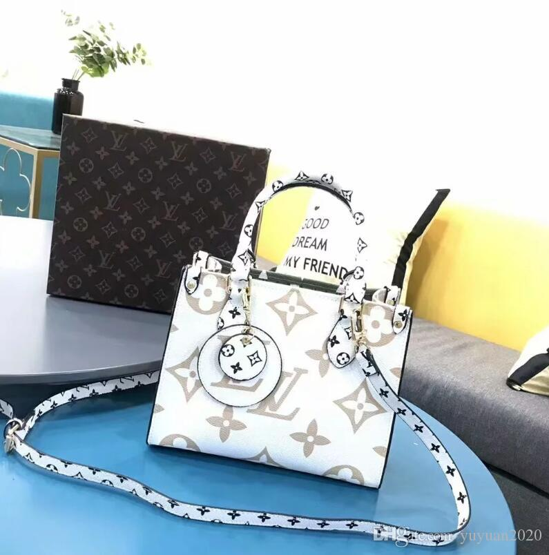 2020 Qualitäts-klassische Mode-Art-Frauen Handtaschen Schulter-Geldbeutel-Beutel-Kurier-Mappen-Beutel Dame Totes Taschen und Staub frei Verschiffen F18