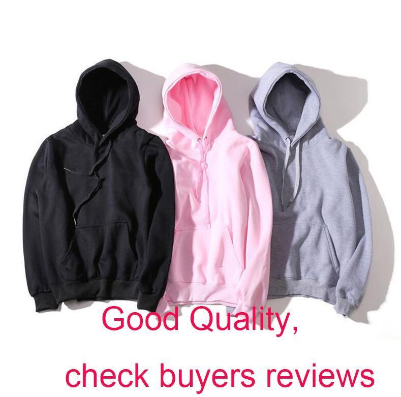 Neue Art und Weise Hoodie Männer Frauen Sport Sweatshirt Größe S-XXL 5 Farbe Baumwollmischung Thick Fashion Hoodies Pullover Langarm Street
