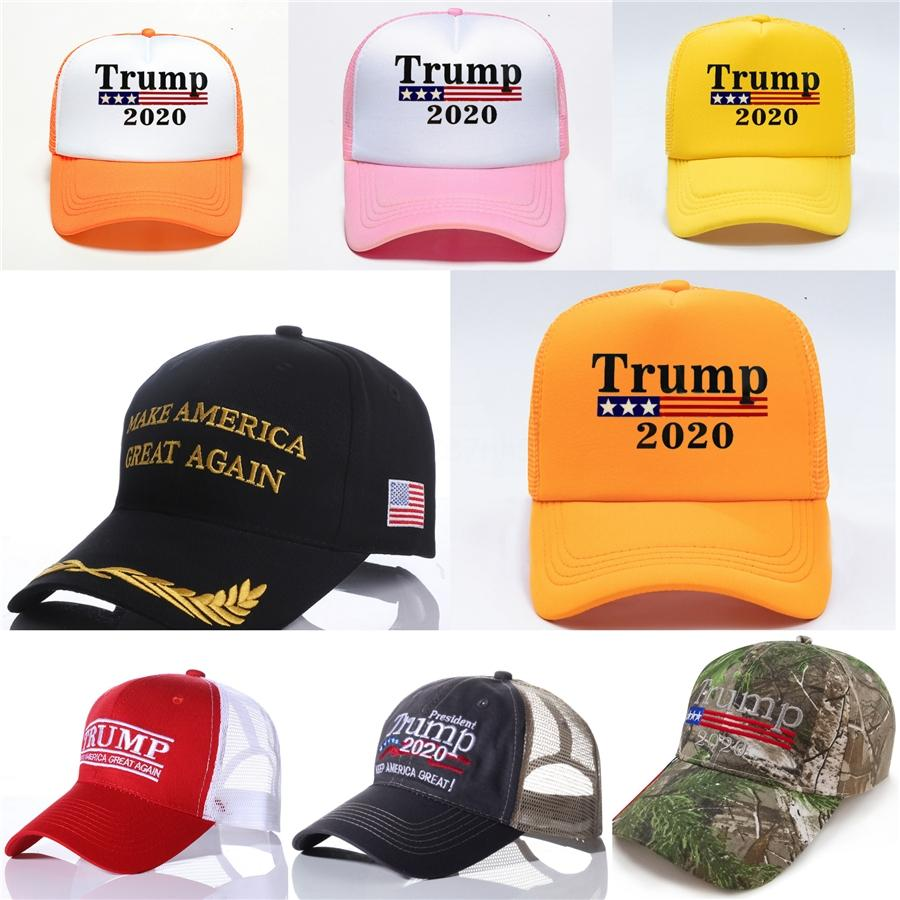 Freier Trump 2020 Baseball Cap Keeping America Great Again USA-Flagge-Hysteresen-Lip-Stickerei-Hut 3 Farben # 226